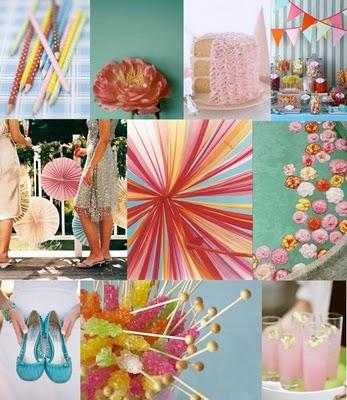 Aqua_pink_wedding