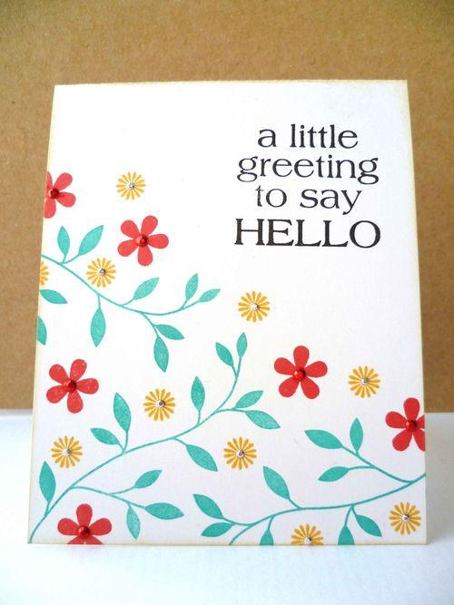 Greetinghello