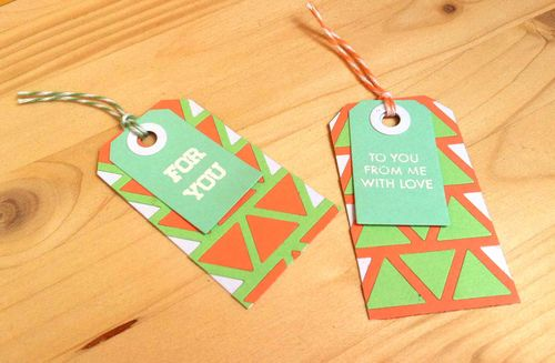 Triangle tags